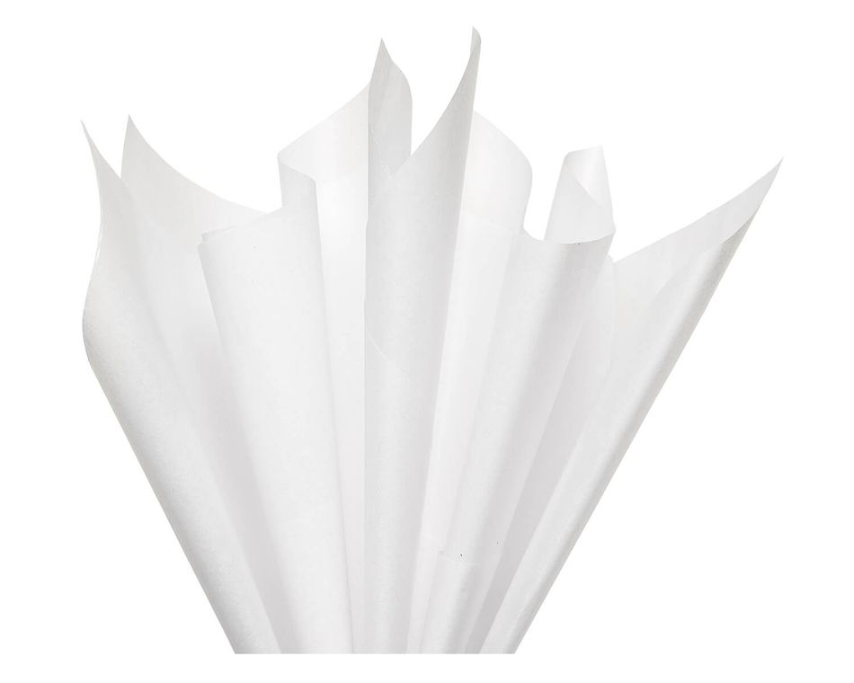 White Tissue Paper, 6 Sheets
