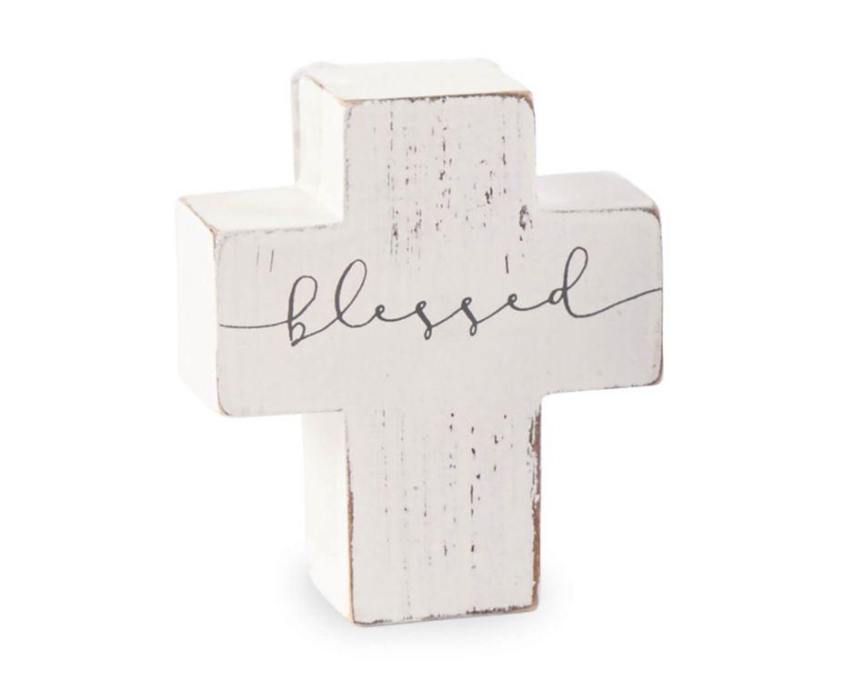 Mud Pie Blessed Cross
