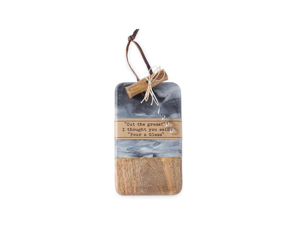 Mud Pie Pour Mini Cheese Board