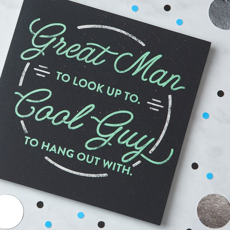 Great Man Birthday Greeting Card For Him