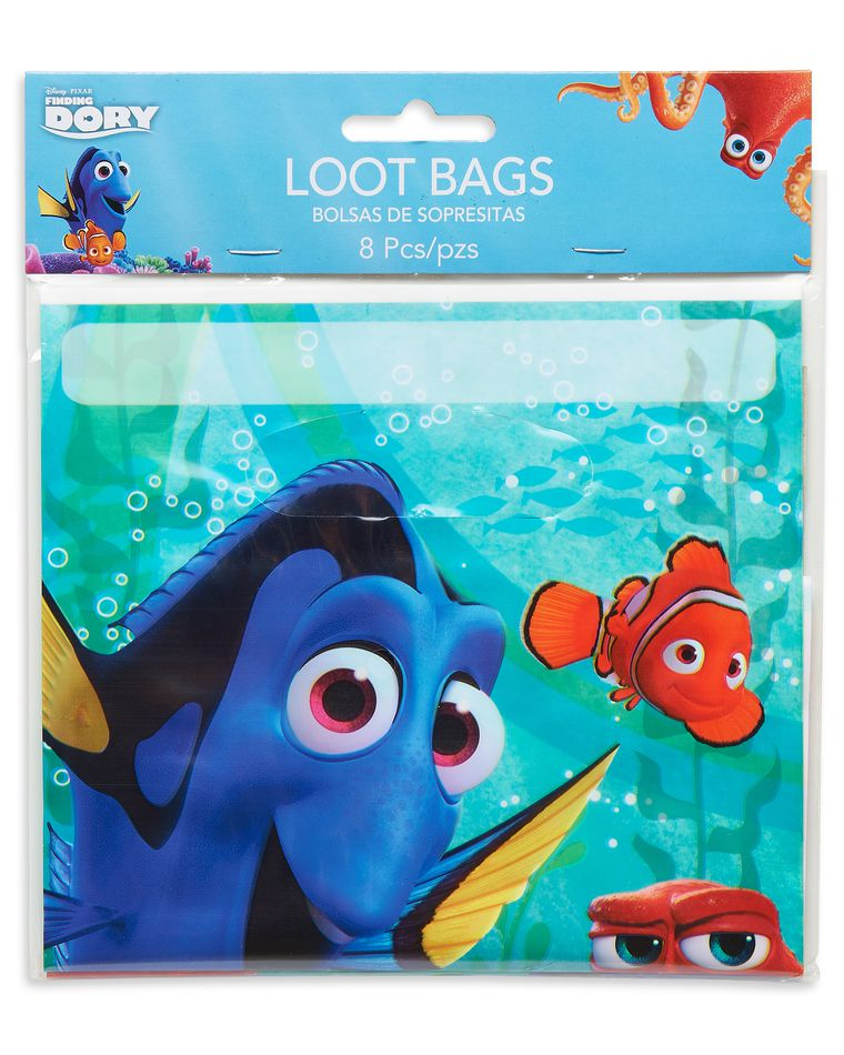 finding dory treat bags 8 ct