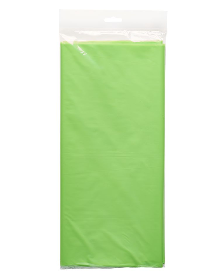 kiwi plastic table cover 54 in. x 108 in.