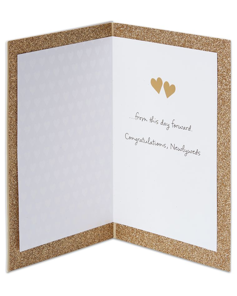 live laugh love wedding card