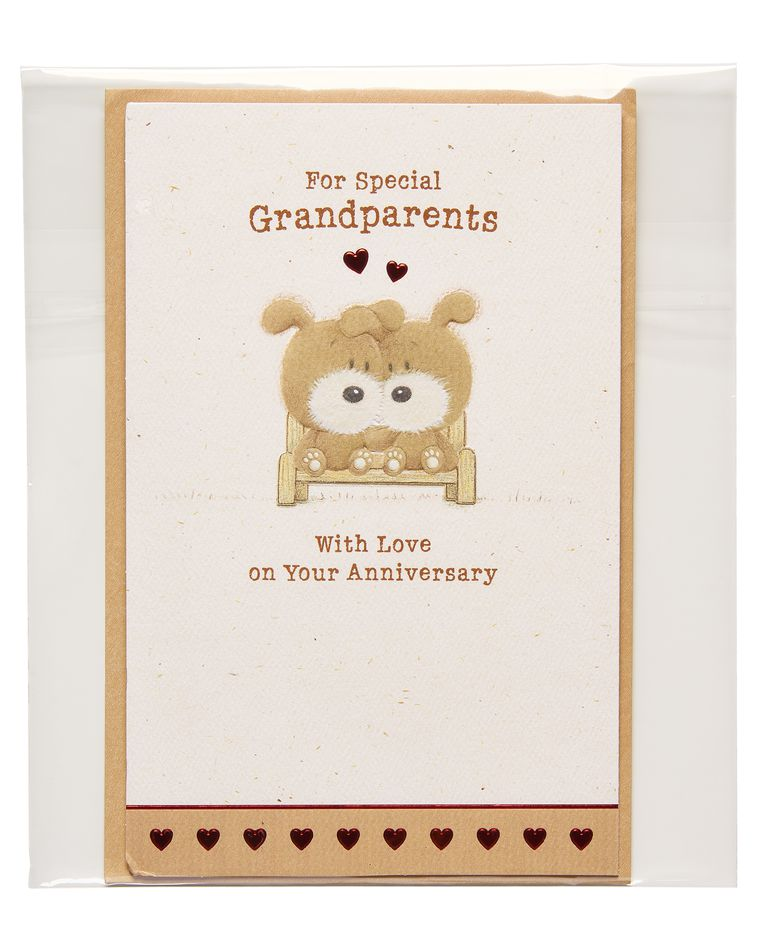 anniversary card for grandparents
