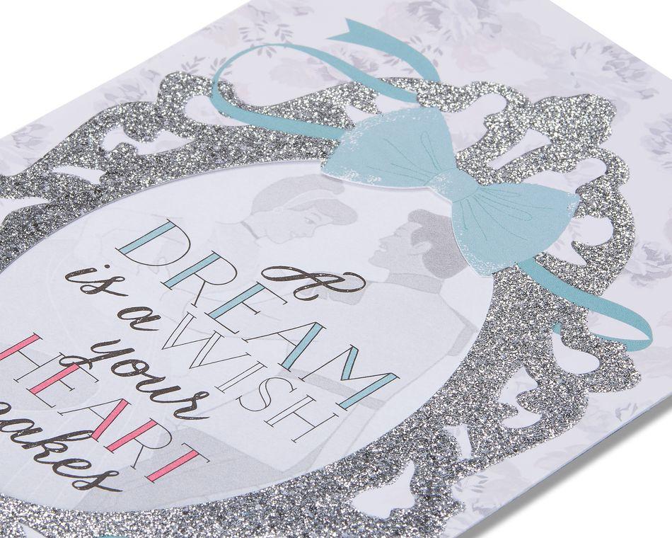 cinderella wedding card