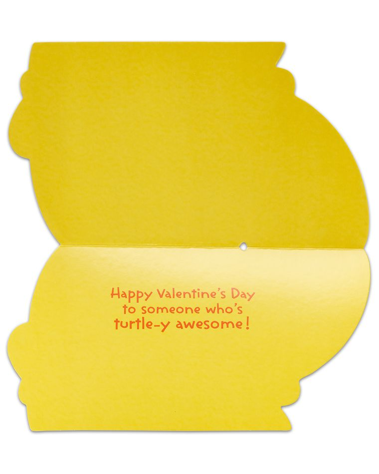 turtle valentine's day card