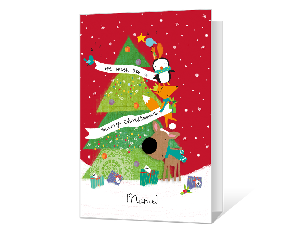 picture relating to Merry Christmas Printable named We Need Yourself a Merry Xmas Printable - American Greetings