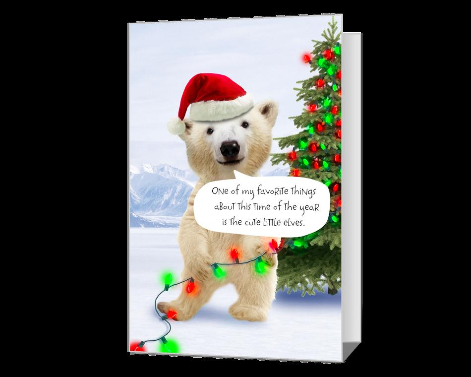 Merry Polar Bear
