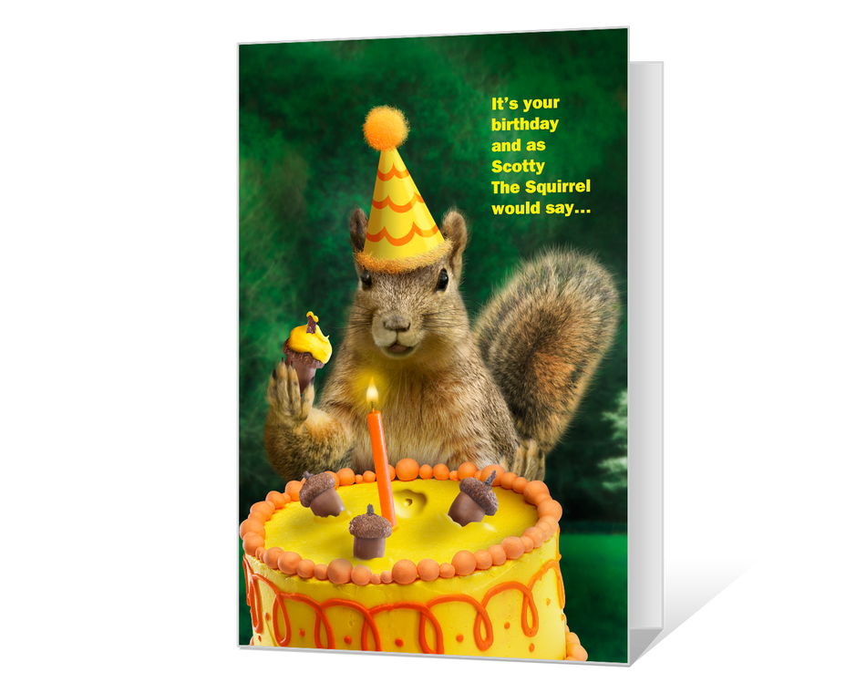 A Nutty Birthday