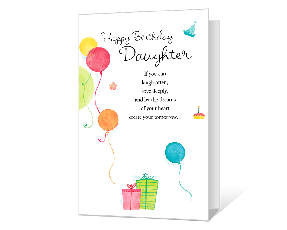 Celebrating daughter printable american greetings celebrating daughter m4hsunfo