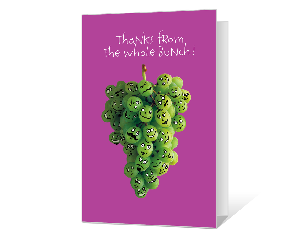 Thanks from the Bunch Printable