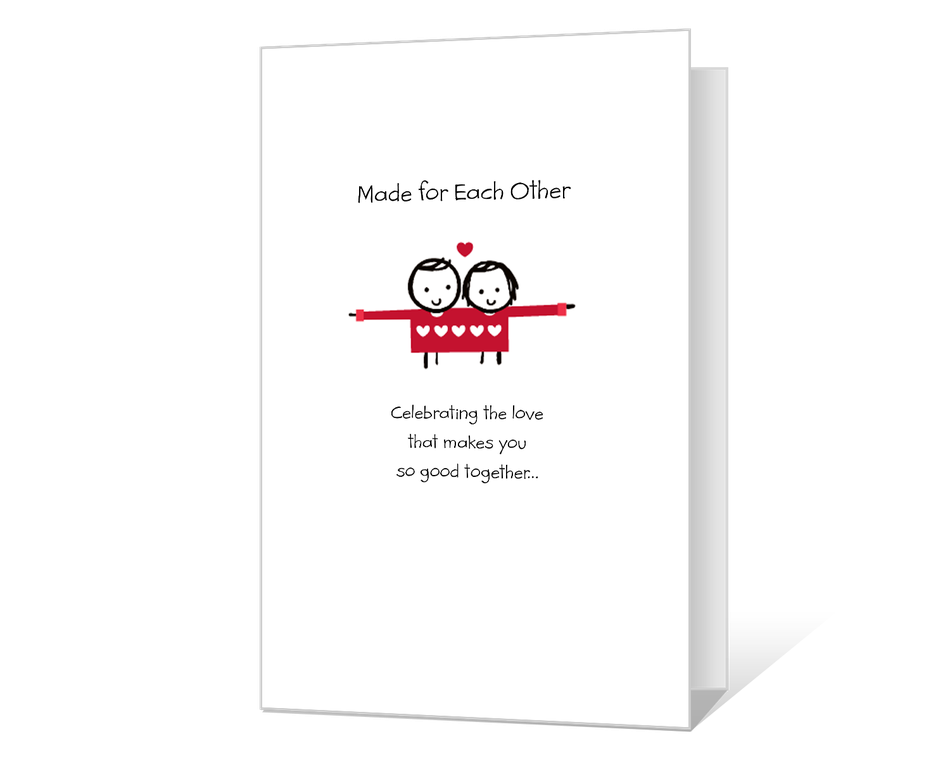 Made for Each Other Printable