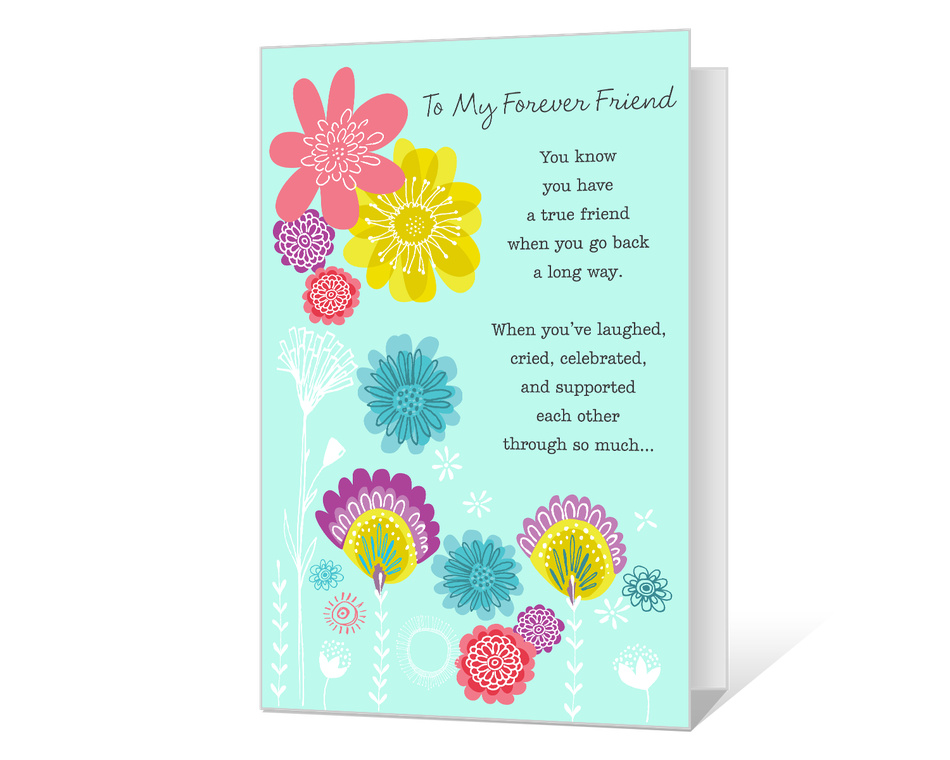 My Forever Friend Printable