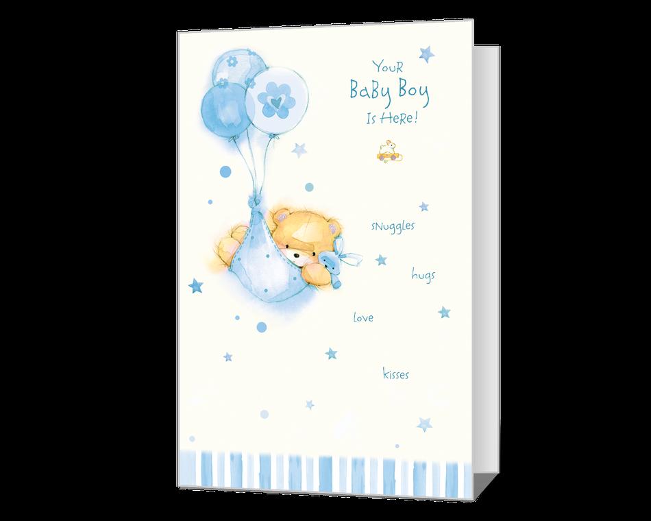 New Baby Boy Printable