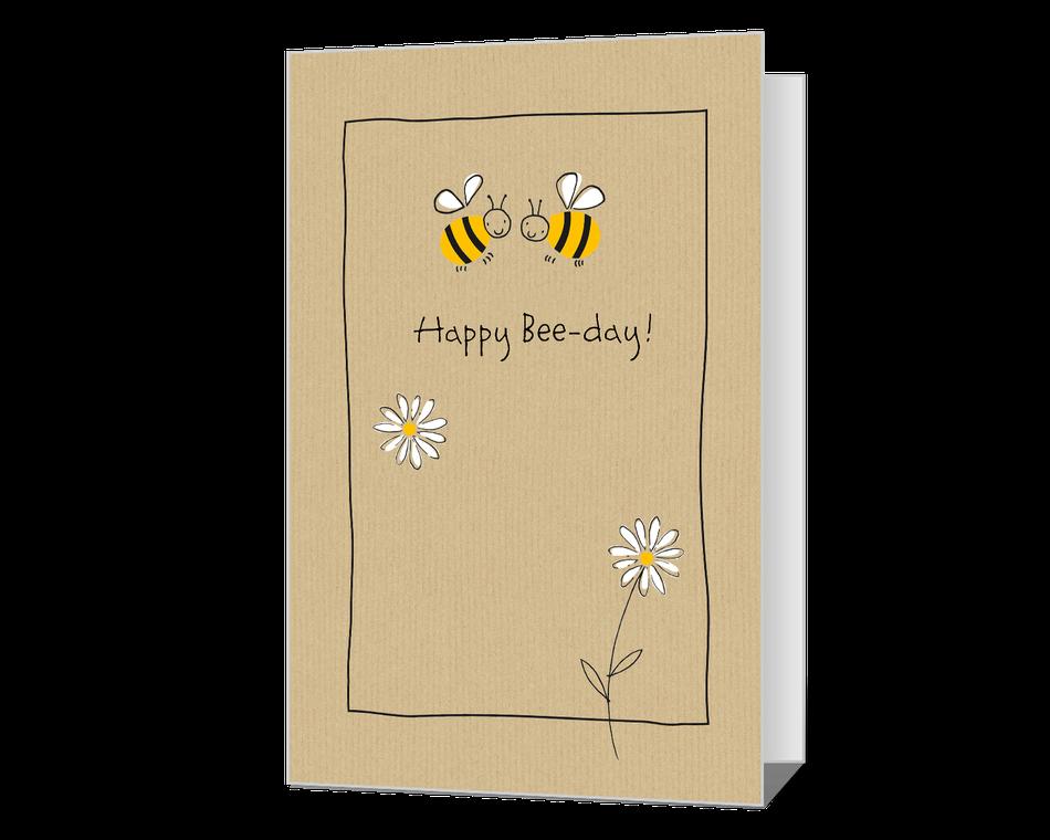 Bee Happy Printable