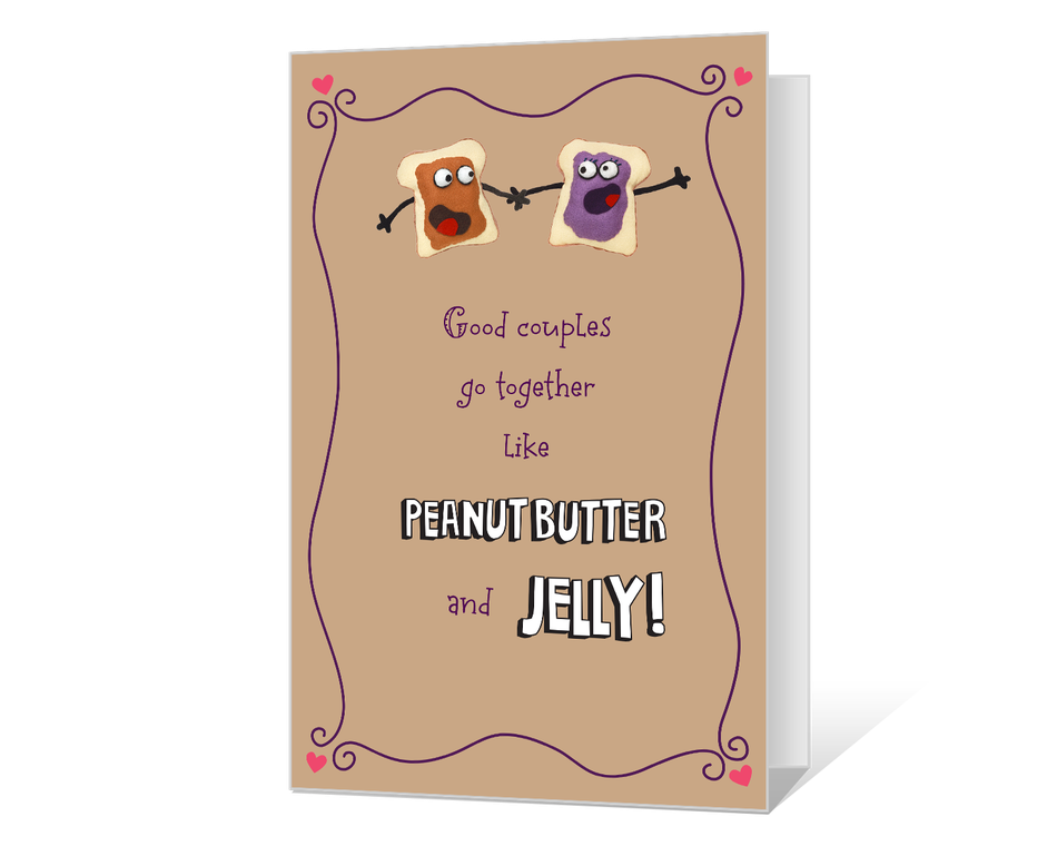 Peanut Butter and Jelly Printable
