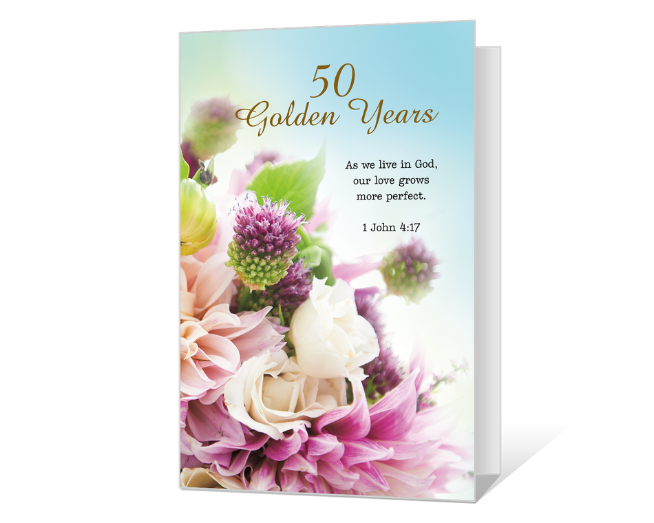 50 Golden Years Printable