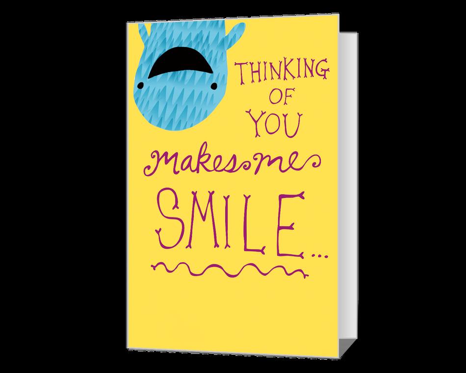 You Make Me Smile Printable