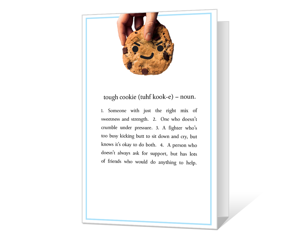 Tough Cookie Printable