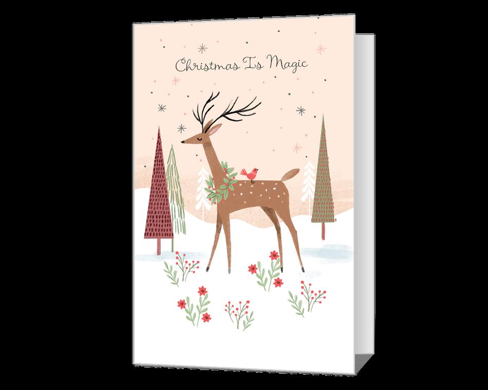 Christmas Is Magic Printable