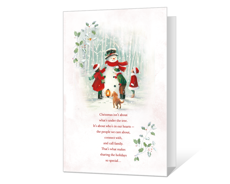 Christmas in Our Hearts Printable
