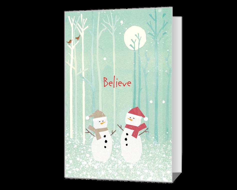 Believe in Christmas Printable