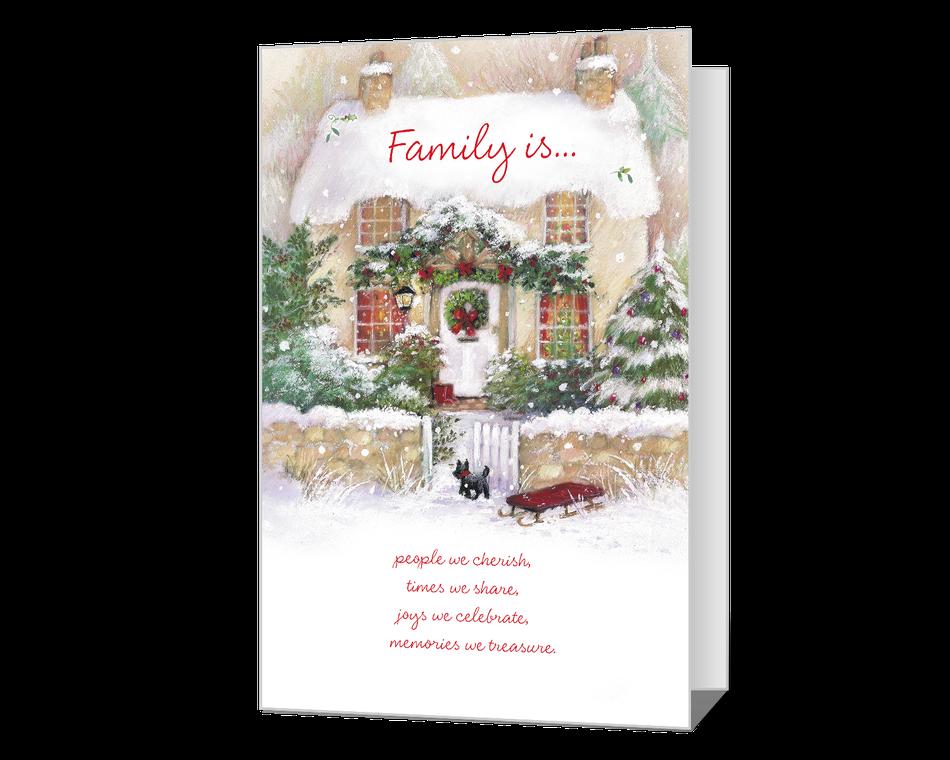 Christmas Is Family Printable
