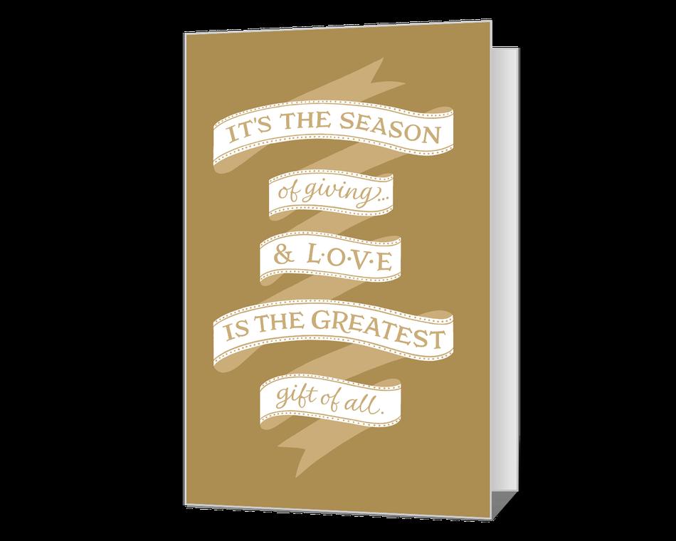 Season of Giving Printable