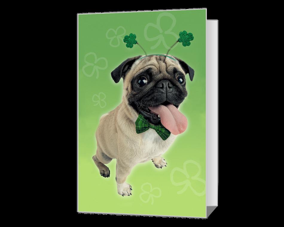 Pugs and Kisses Printable