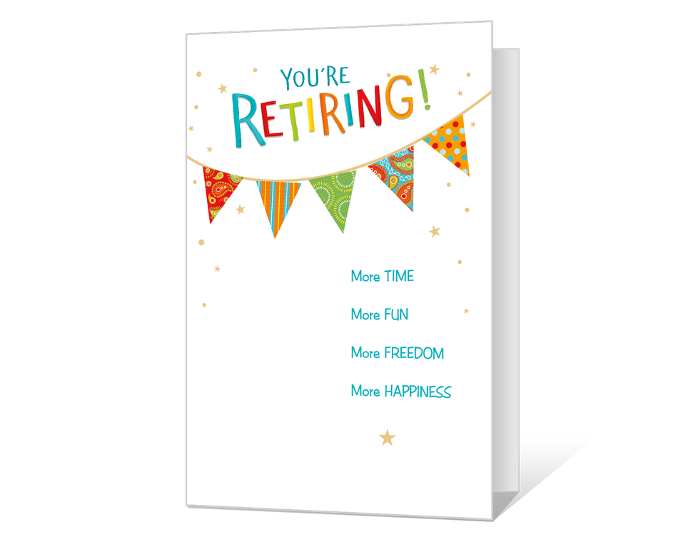 Happy Retirement Printable