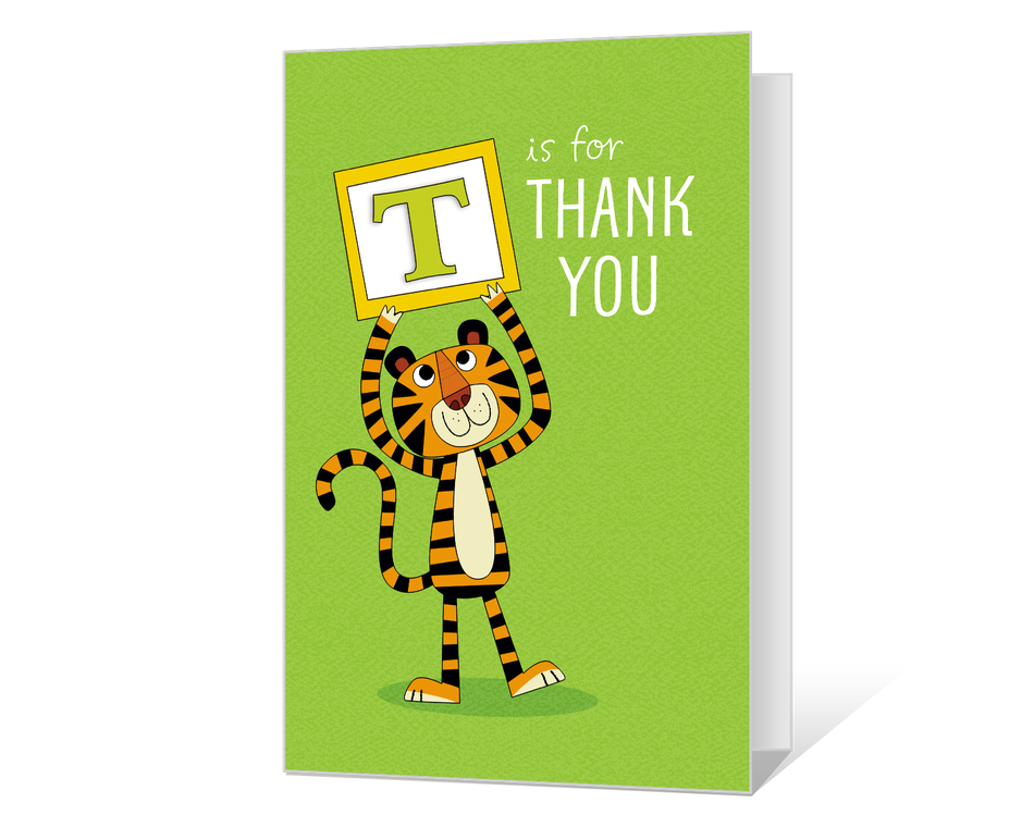 T is for Thank You Printable