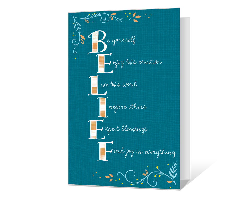 Belief in God Printable