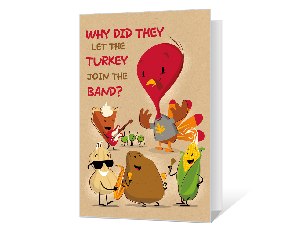 Silly Thanksgiving Printable