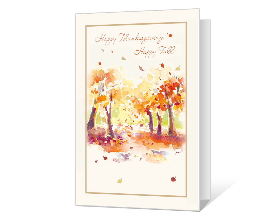 Happy Thanksgiving Happy Fall Printable