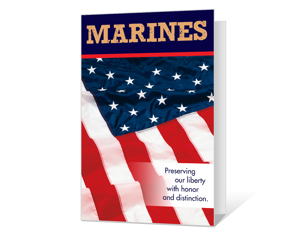 image relating to Closed Memorial Day Sign Printable titled Marines Veterans Working day Printable - American Greetings