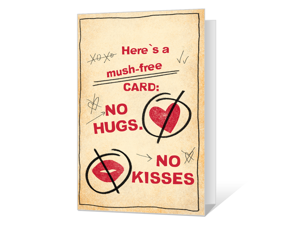 A Mush-Free Valentine Printable