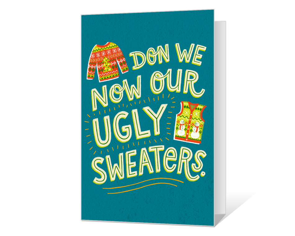 Ugly Sweater Printable