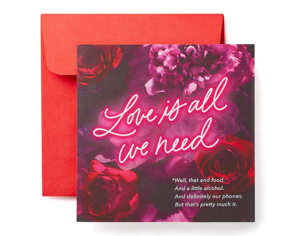Love and Food Valentine's Day Card
