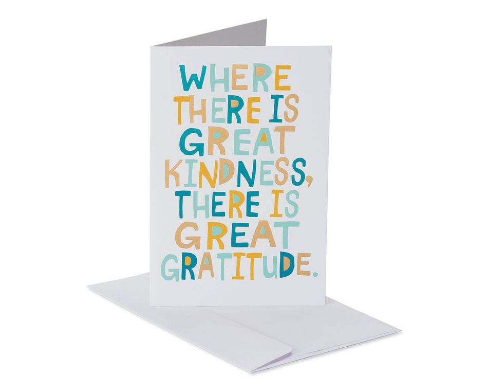 Thank You Happy New Year Card, 6-Count