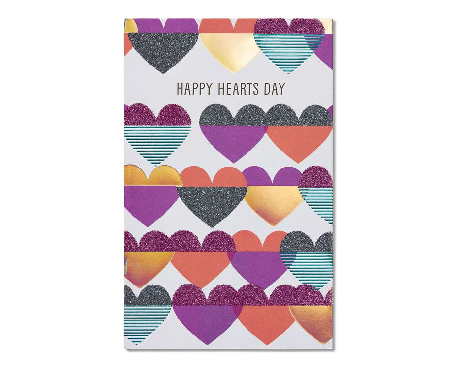 heart's day valentine's day card