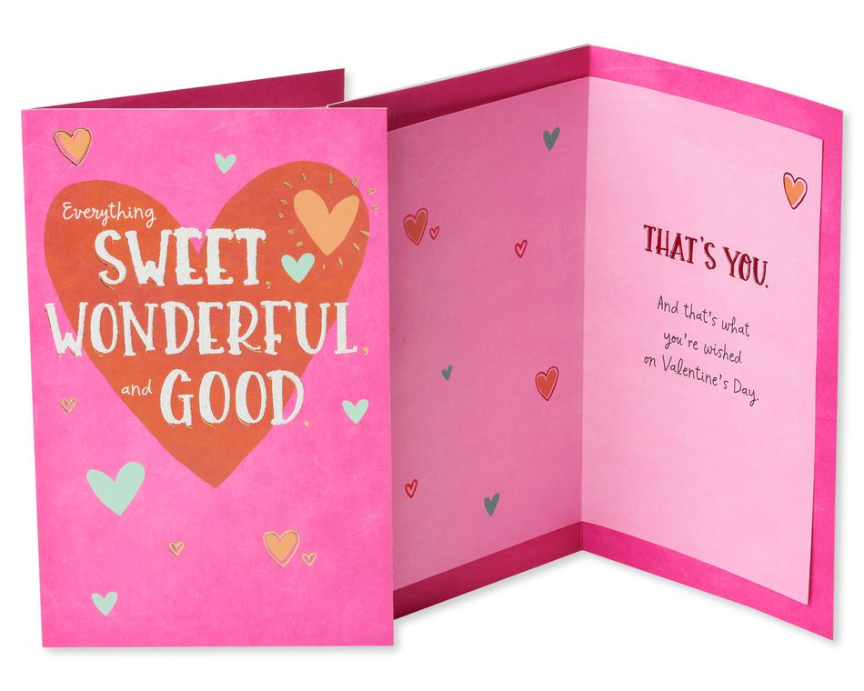 Colorful Valentine's Day Card Bundle, 3-Count
