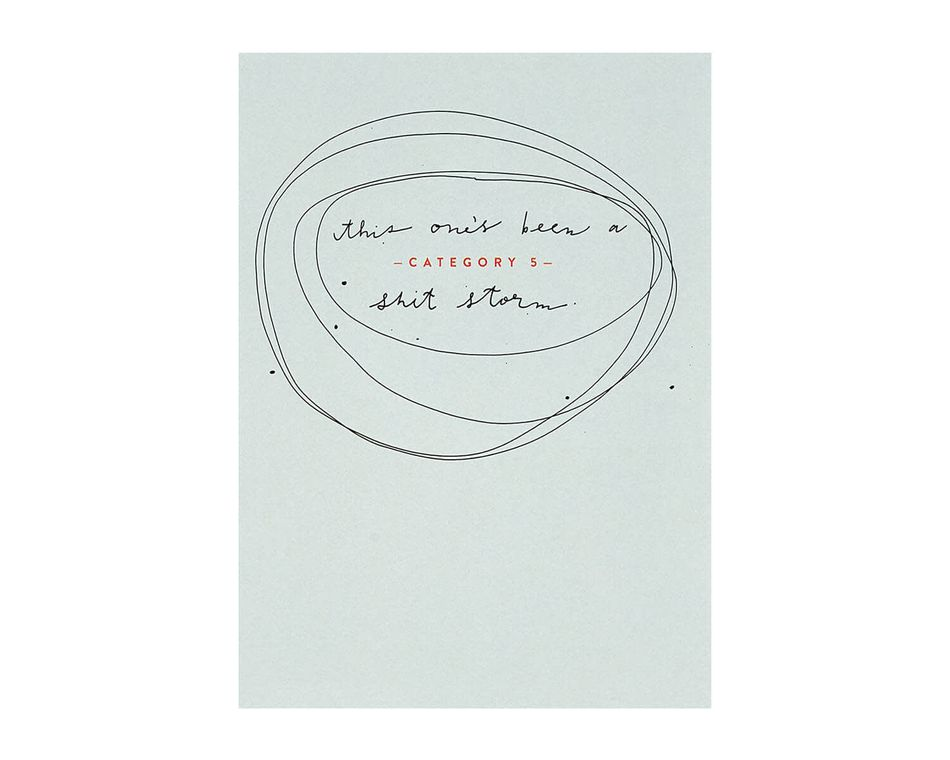 Category Five Birthday Card