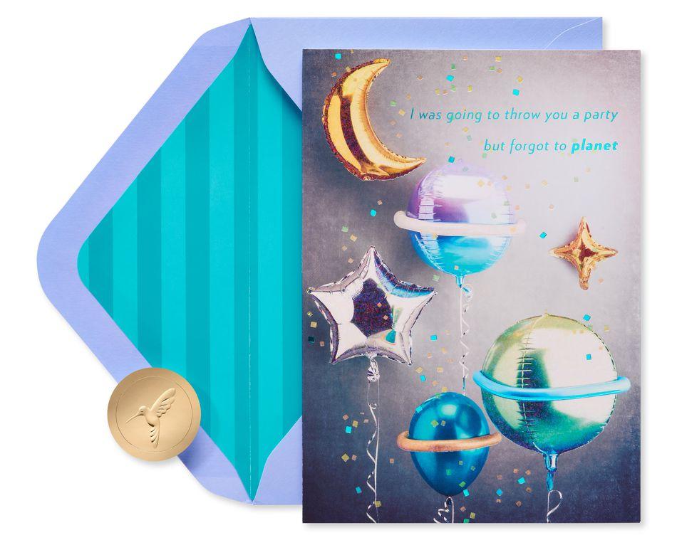 Best Birthday in the Universe Birthday Greeting Card