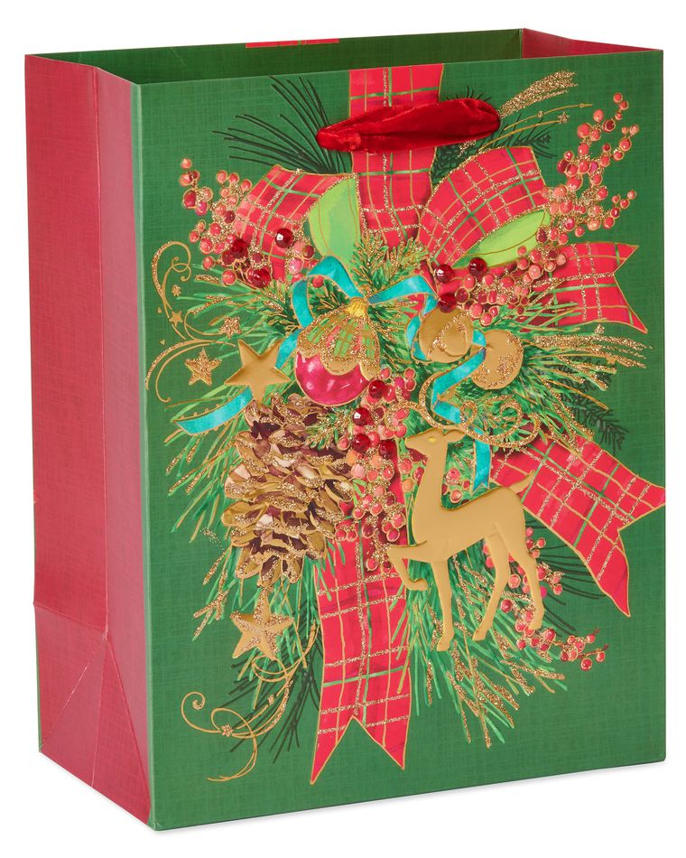 Christmas Tidings Holiday Gift Bag