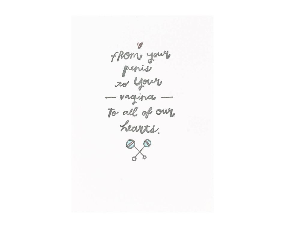 To All Of Our Heart Baby Card