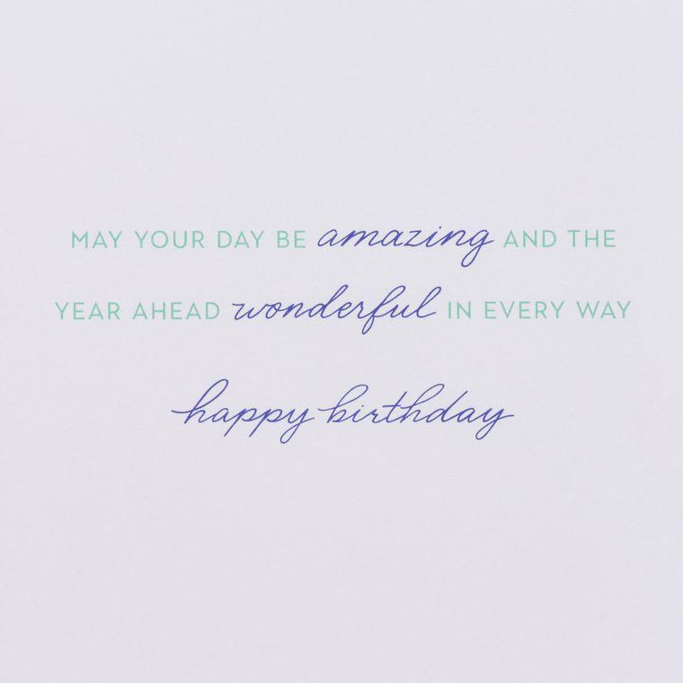 Confetti Cake Birthday Greeting Card