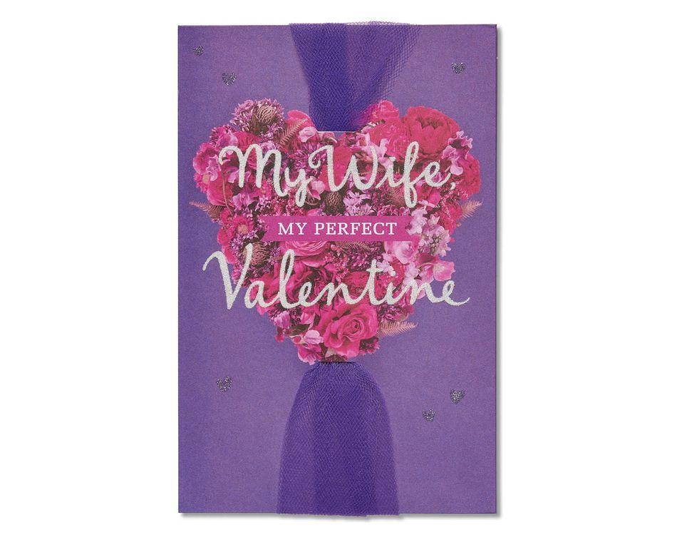 perfect valentine valentine's day card