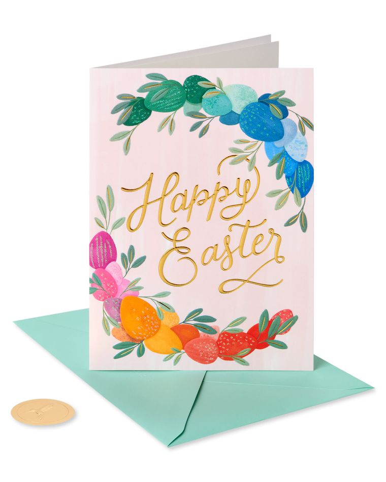 Joyous Springtime Easter Greeting Card