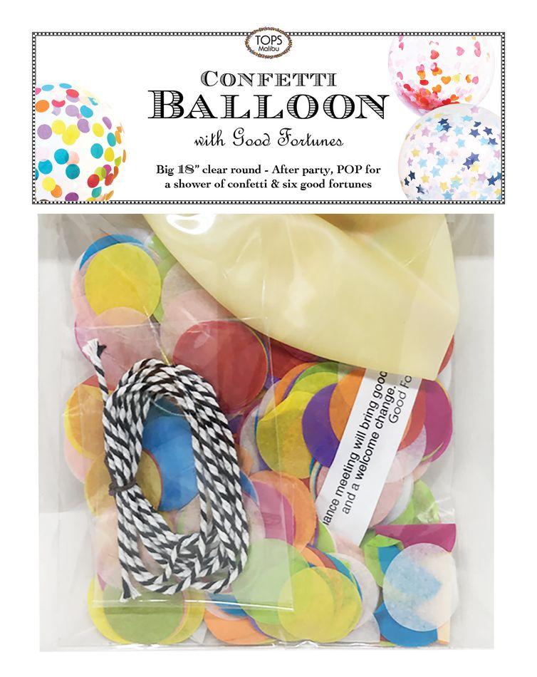 Big Dots Confetti Balloon