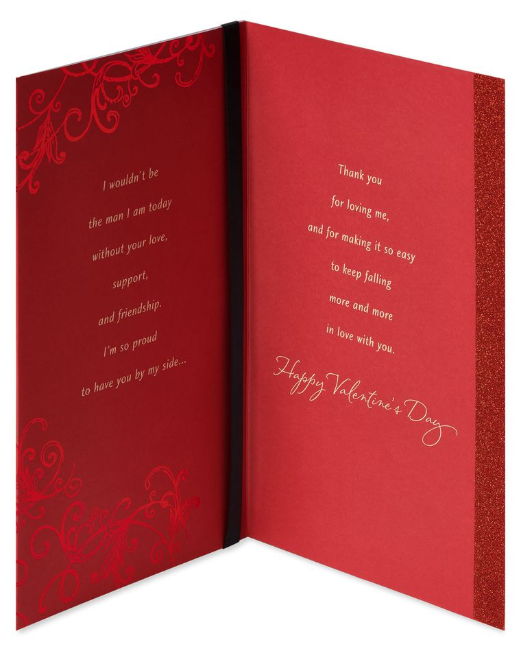 Roses Valentine's Day Card for Wife